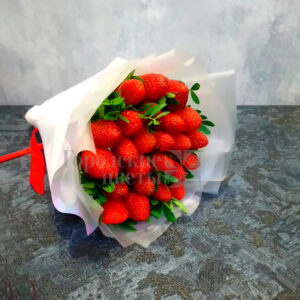 Букет из 25 ягод клубники